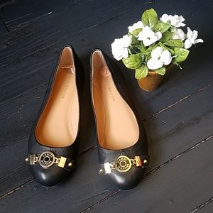 Tommy Hilfiger Leather Flats